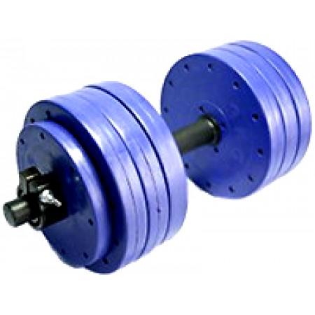 Гантели пластиковые наборные Титан 2шт по 29 кг 4871