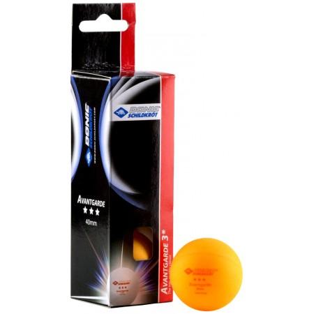 Мячи для настольного тенниса Donic Advantgarde 3* 3шт оранжевые