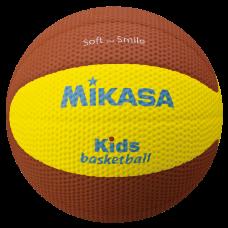 Мяч баскетбольный Mikasa SB512-YBR (для детей)